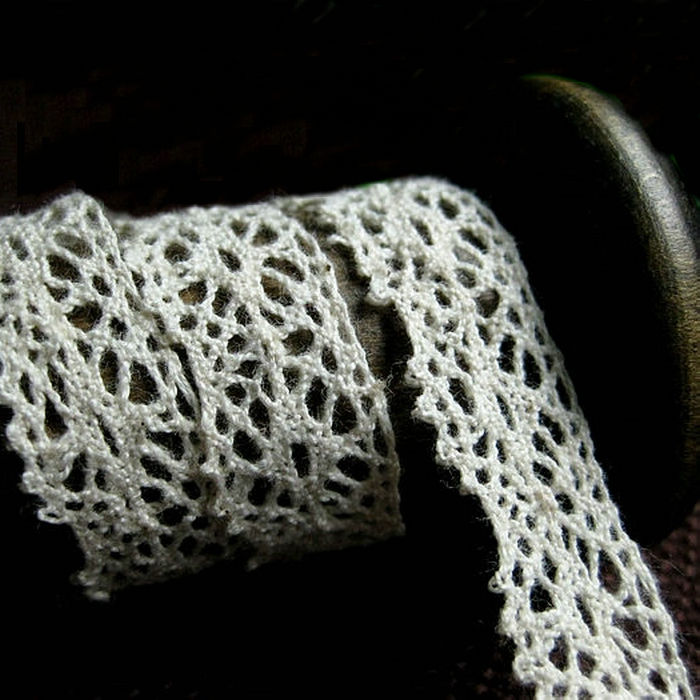 Cheerslife Cotton Crochet Lace Pattern Thick Cotton Lace Trim F1765