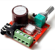 Mini Hi-Fi PAM8610 Digital Class D Audio Stereo Amplifier board