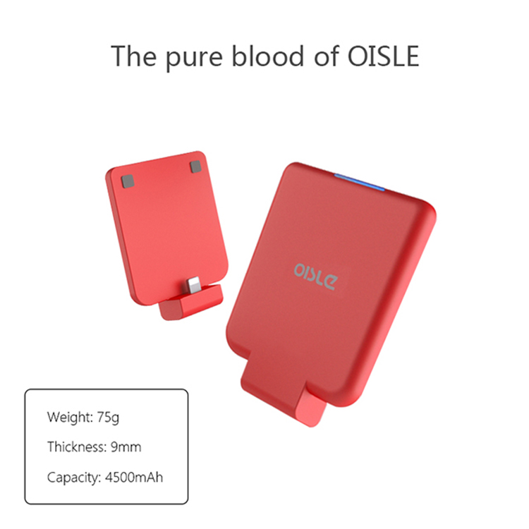 OISLE New Ultra Thin Power Bank Battery Charger Backup Battery Case for iPhone X/8/7/6/8 Plus/7Plus