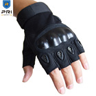 Synthetic Leather Hard knuckle Protective Police Equipment Military Tactical Hunting Shooting Gloves