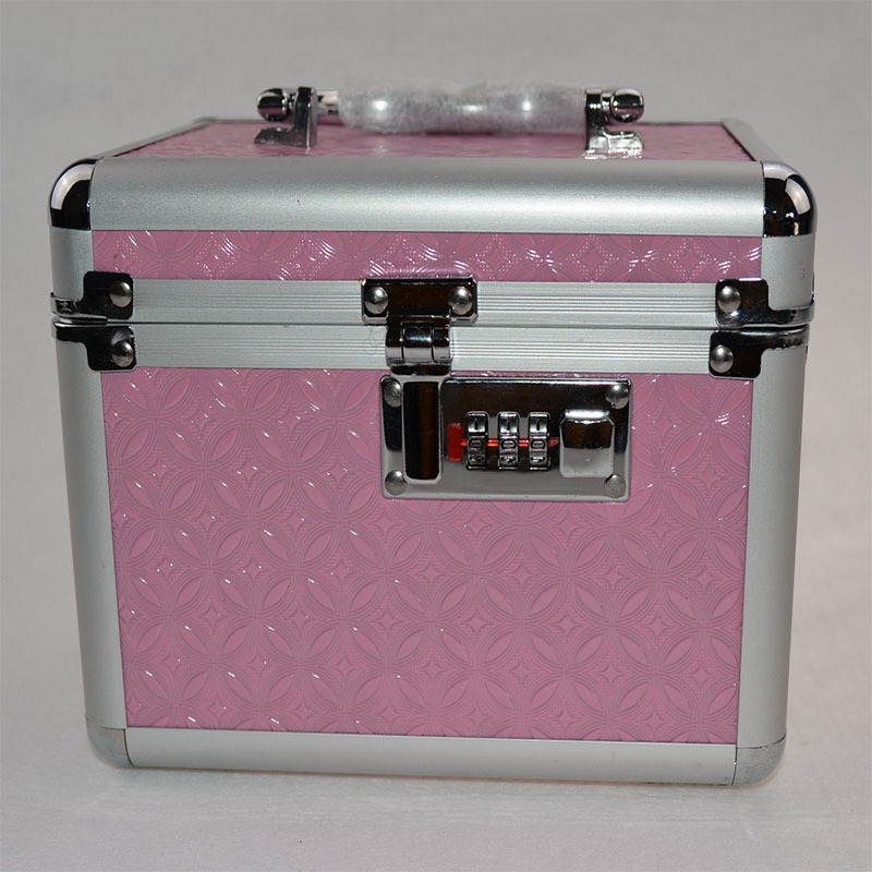 ... Professional Makeup Artist Cosmetics Cases Large Aluminum Beauty Case  With Mirror Cette Lock Vanity ...