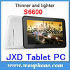 JXD S6600 7inch Android Tablet PC Allwinner A13 1GHz 3000mAh battery