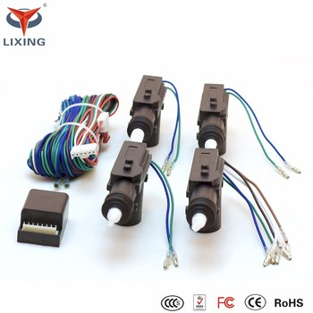 2 Wire And 4 Wires Remote Central Lock For 12v Universal Cars Buy
