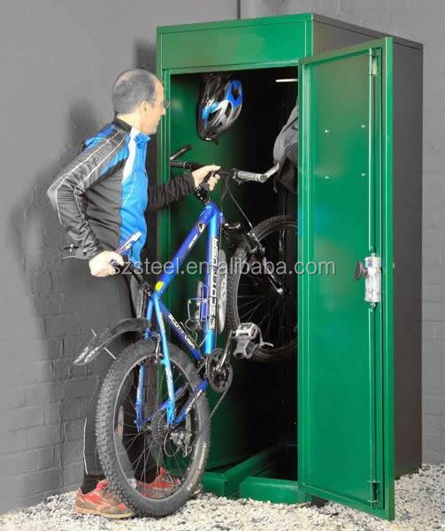 Bike Storage Containers Outdoor Bike Lockers Steel Bike