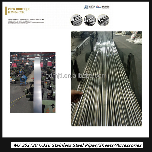ASTM A312 Grade Tp304 stainless steel pipe/<strong>tube</strong> with 600G finish
