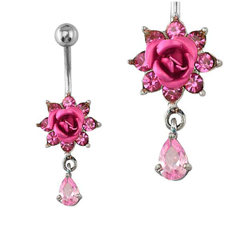 Fake Magnetic Body Piercing Jewelry