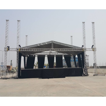 Fashional Exhibition Steel Roof Trusses Prices Lighting Truss For Sale