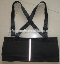 Hi-vis back straightening support belt