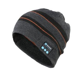 Fashion bluetooth music beanie hat speakers with headphone