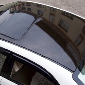 Annhao High Glossy Black Car Panoramic Sunroof Thicken car roof film Vinyl