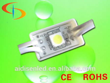 12v 0.24 W Injection LED module light / low power LED module / 140 degree module LED 18 * 10 mm