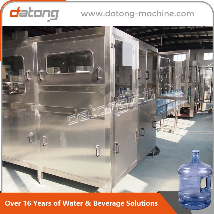 factory hot sales 5 Gallon Bottle inside outside Washing Filling Capping Machine of ISO9001 Standard