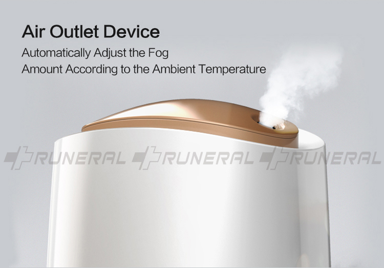 2.4L capacity cool mist ultrasonic aromo humidifier
