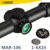 Marcool Riflescope,Etched Glass Reticle 1-6X24 Air Soft Flip Up Sight Military Surplus Monocular Telescope Huning Rifle Scopes