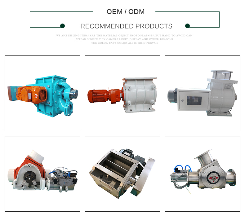 patented high-pressure pneumatic conveying 3 way conveying diverter valves
