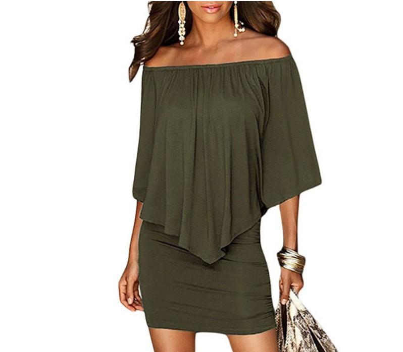 ba59cb48a3047 مصادر شركات تصنيع الأخضر قبالة فستان الكتف والأخضر قبالة فستان الكتف في  Alibaba.com