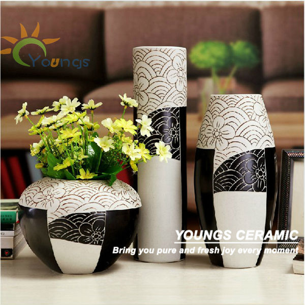 Fashion Orange Ceramic Vase Home Decoration Pieces. Alibaba Manufacturer Directory   Suppliers  Manufacturers