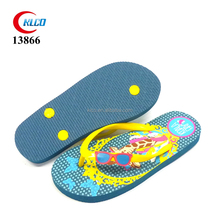 hot sell custom printing fancy strap kids flip flops