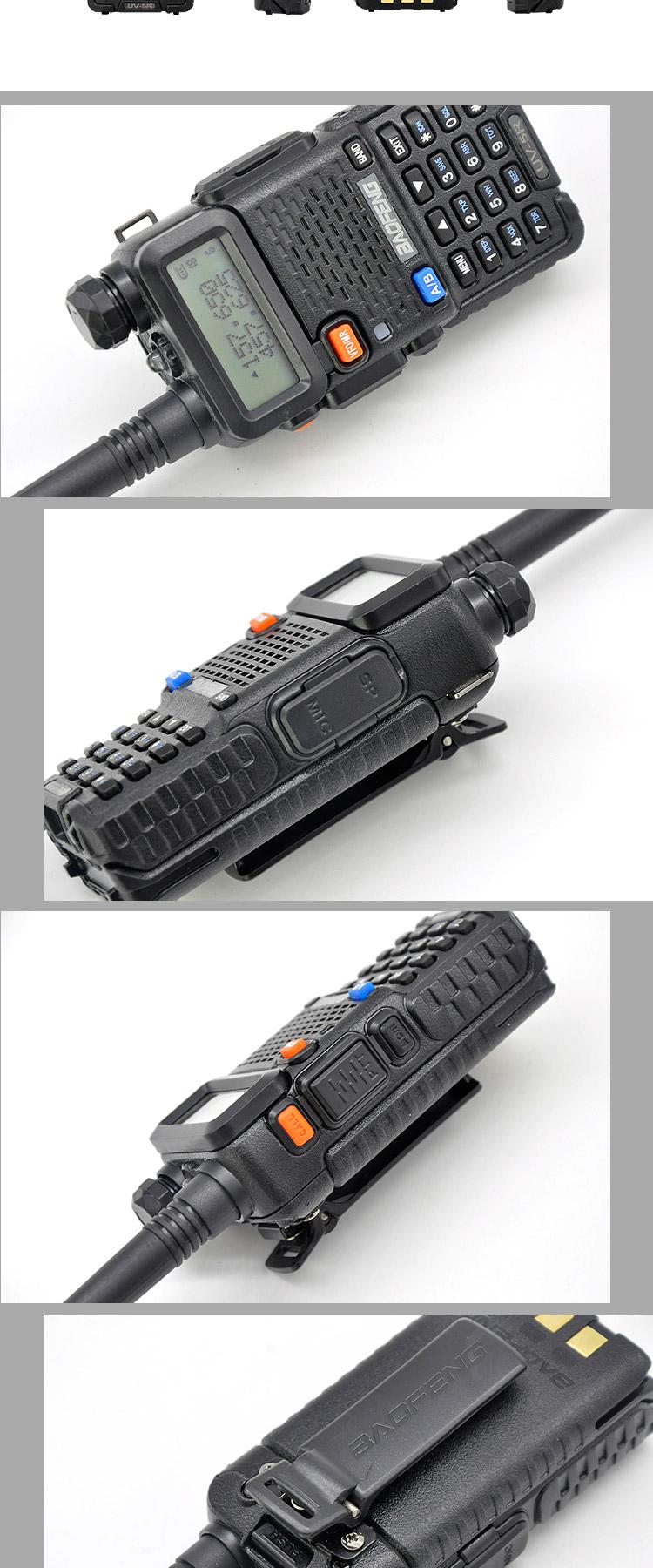 सबसे अच्छा बेच baofeng यूवी 5r रेडियो hf यूएचएफ वीएचएफ baofeng uv-5r असली 8w 2way रेडियो