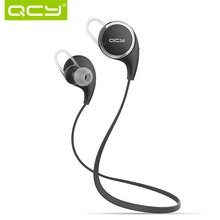 Bluetooth 4.1 Headset Stereo Original QCY QY8 Wireless Sports Earphone Headphones For iPhone Sumsung Htc With Microphone