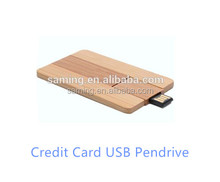Factory Wholesale Creative Credit Card OEM Supported Pendrive 2TB USB Flash Drive