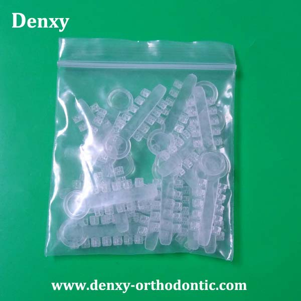 Denxy Dental China Orthodontics Manufacturer Clear / Silver Color ...