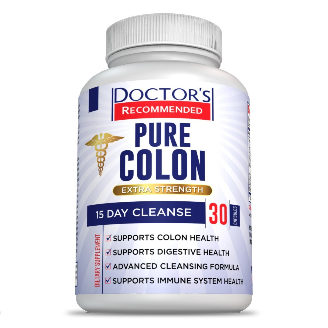 #1 Colon Cleanse Supplement - Maximum Strength - 15 Day Advanced Detox Cleanse - Increase Energy - Promote Weight Loss