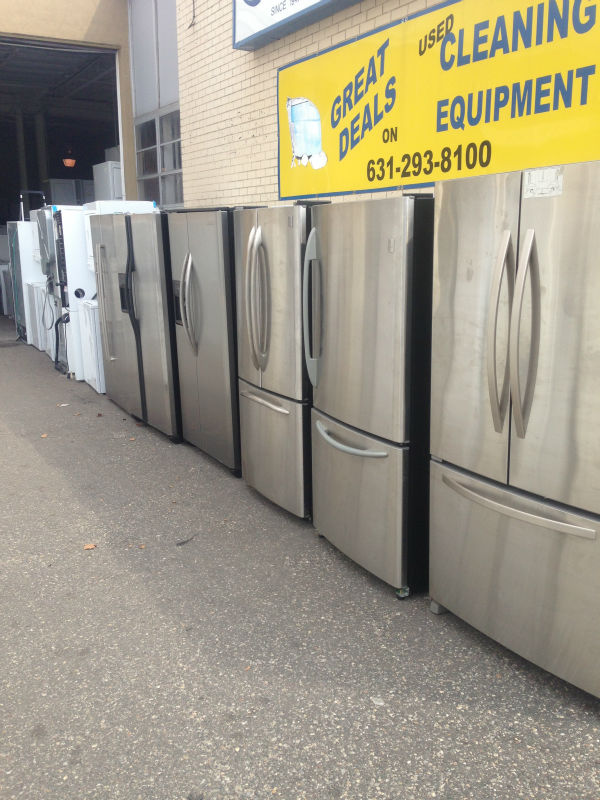 Used Stainless Steel Refrigerators