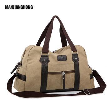 221207b4eb Heavy Duty Canvas Duffel Bags Men Vintage Shoulder Travel Bag - Buy ...