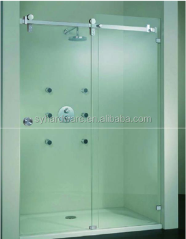 Sliding Walk In Shower Doors.Fulaisi Frameless Stainless Walk In Prefab Glass Sliding Shower Door Enclosure Hardware Sg A03 From Zhaoqing Buy Automatic Glass Sliding Door From