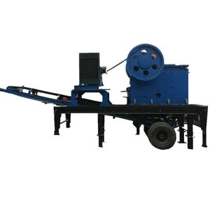 Flexible Popular Wheeled Crusher portable Jaw Crushing Plant/Mobile Stone Crushing machine
