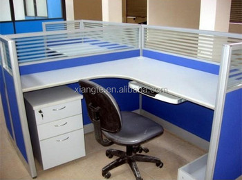 Customized Wooden Office Screen Partition Designmdf Table With