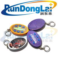 wholesale custom logo promotion mini personal safety alarm keychain