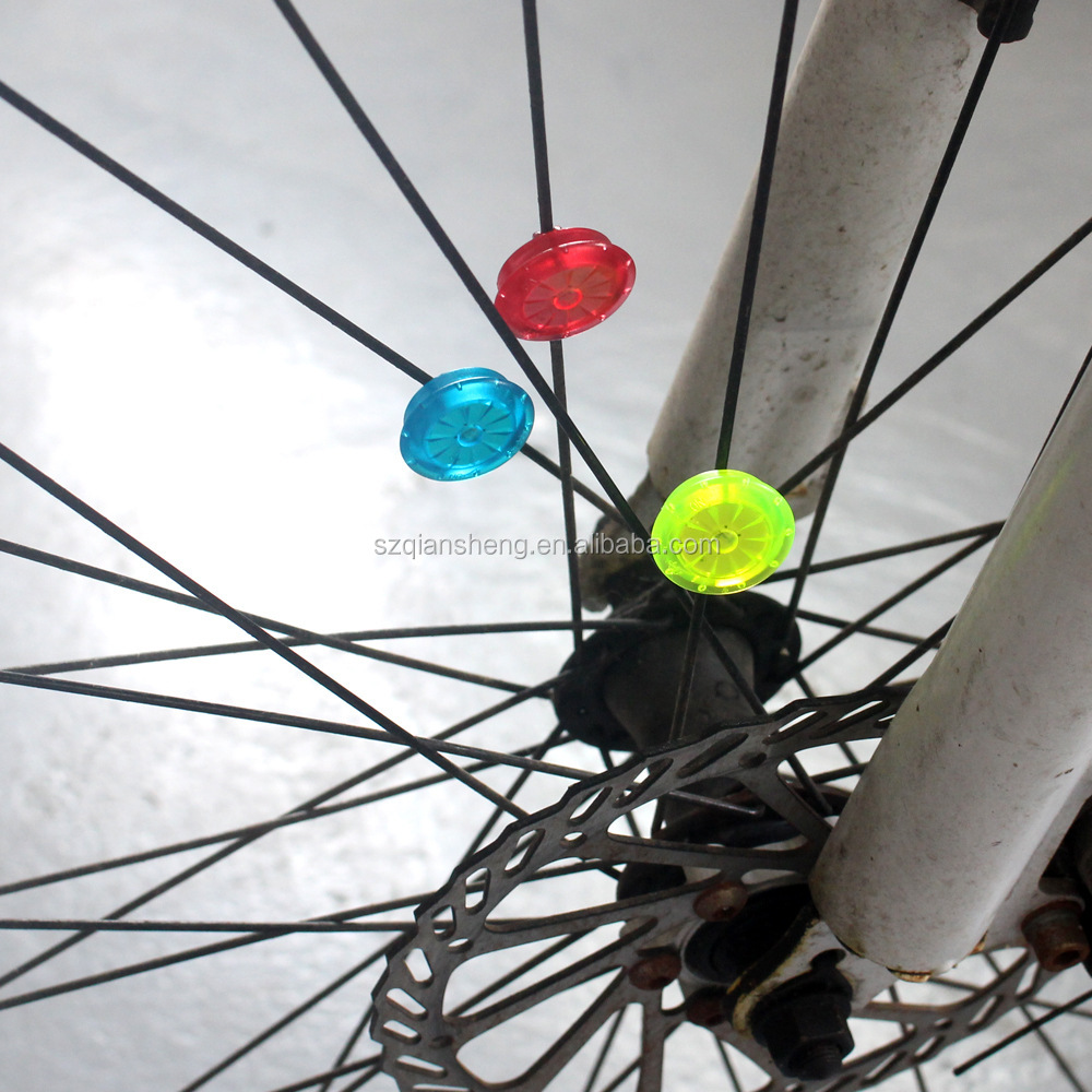 Bicycle Lights Colorful  Cycling Lamp Led Spoke Bicycle Wheel Light