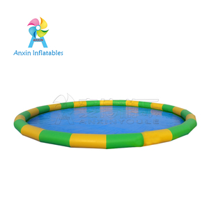 Widely Used Water Games Outdoor Type Intex Above Ground Large Adult PVC Tarpaulin Inflatable Swimming Pool For Sale