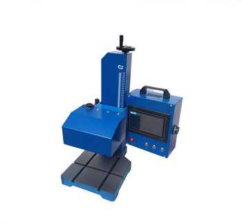 3dccf7774f8 Small Metal Name Plate Dot peen marking Engraving machine for small business
