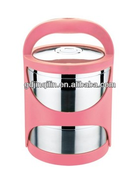 Hot Selling Stainless Steel Double Wall Lunch Hot Box Food Warmer For  Kitchen