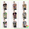 Custom sublimation men's t shirt with wholesale price
