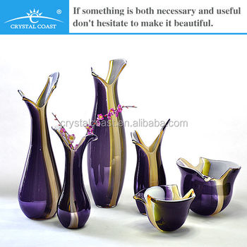 Cheap Tall Different Types Glass Vase For Wedding Decoration View