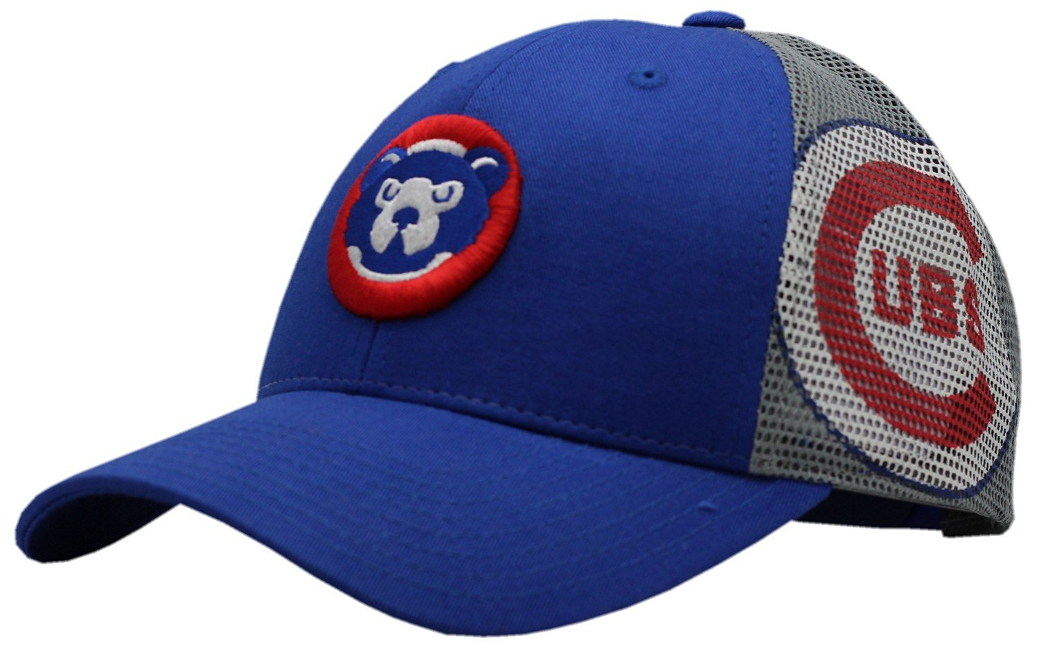 info for 805e7 1b1de Get Quotations · Chicago Cubs MLB Two Tone Mesh Snapback Hat