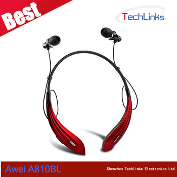 Best Awei A810BL Wireless Bluetooth Earphone mp3 players In-Ear Noise Isolation Sports headphones