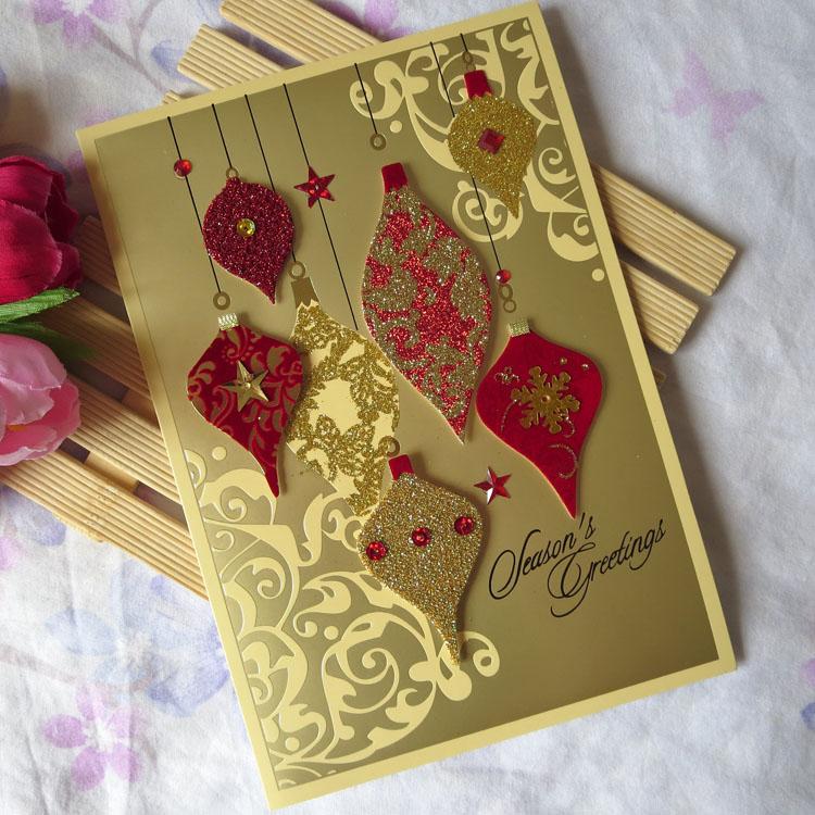 Aliexpress.com : Buy Christmas new year greeting card ...