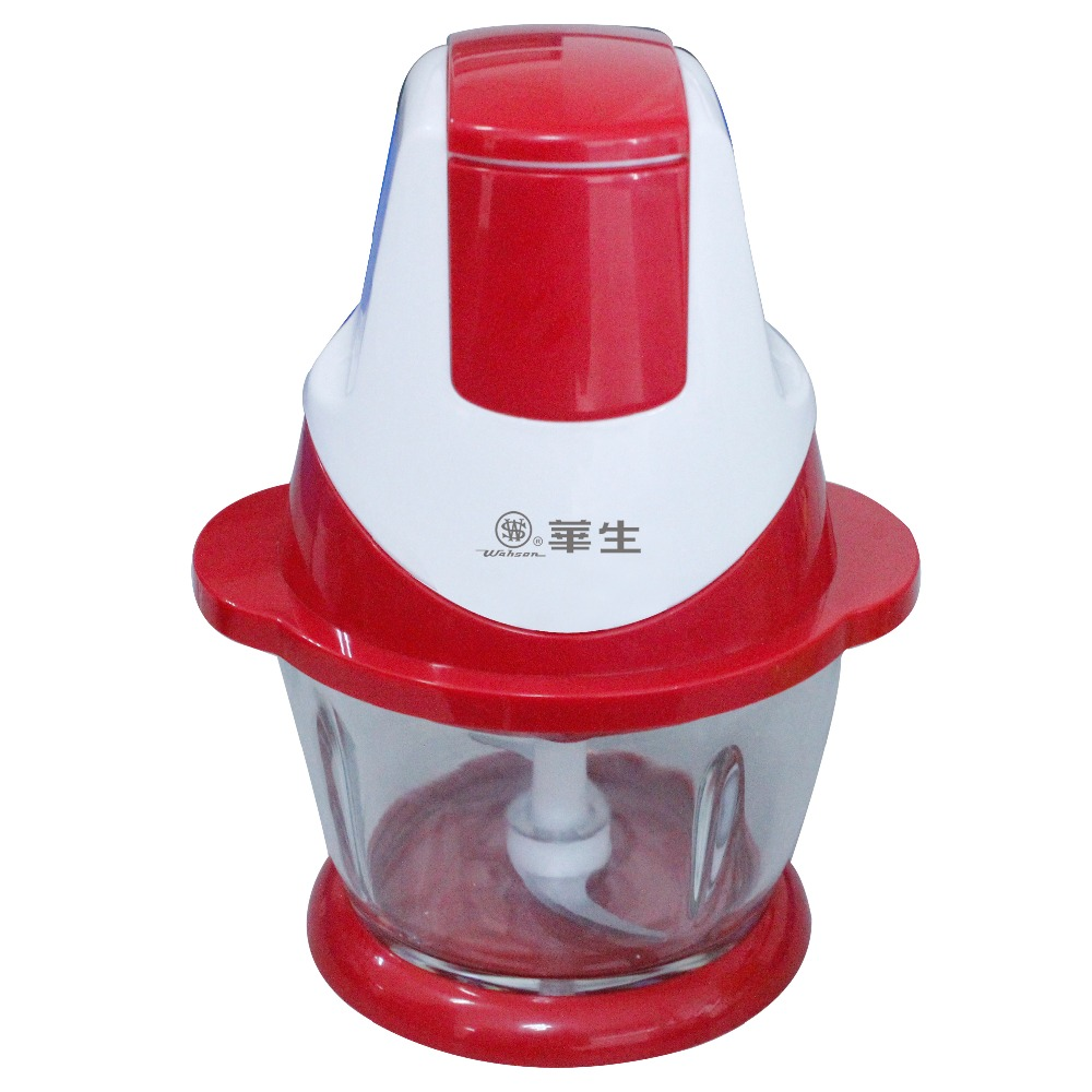 OEM & ODM factory meat chopper with SUS304 stainless steel blade and plastic casing as seen as on TV VL-3888A-2