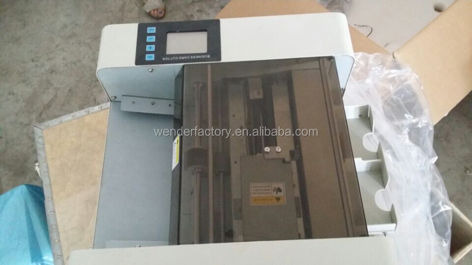 Full Automatic A3 Business Card Cutter/business Name Card Cutter ...