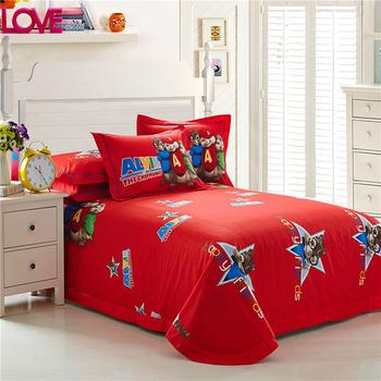 Exceptionnel Microfiber Handicraft Kids Cartoon Bed Sheet