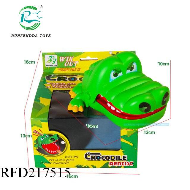 222557463 لطيف كبير التمساح الفم طبيب الأسنان لدغة فنجر لعبة مضحكة لعبة أطفال الأطفال  هدية