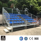 Stadium sports field mobile grandstand scroffolding stadium stand outdoor demountable tribune