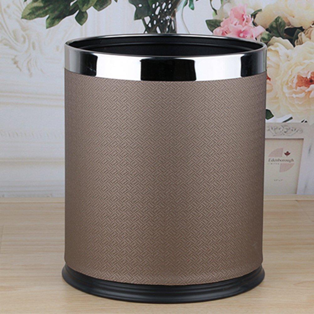 European-style household living room trash can/Kitchen bathroom trash/Creative simplicity trash-O