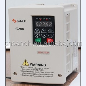0.75kw three phase ac variable frequency pure sine wave inverter for knitting machine