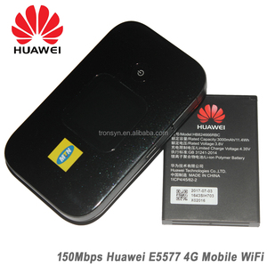 150Mbps Huawei E5577 E5577S-321 4G LTE Pocket WiFi Router With 3000mAh  Battery And 1 45TFT screen